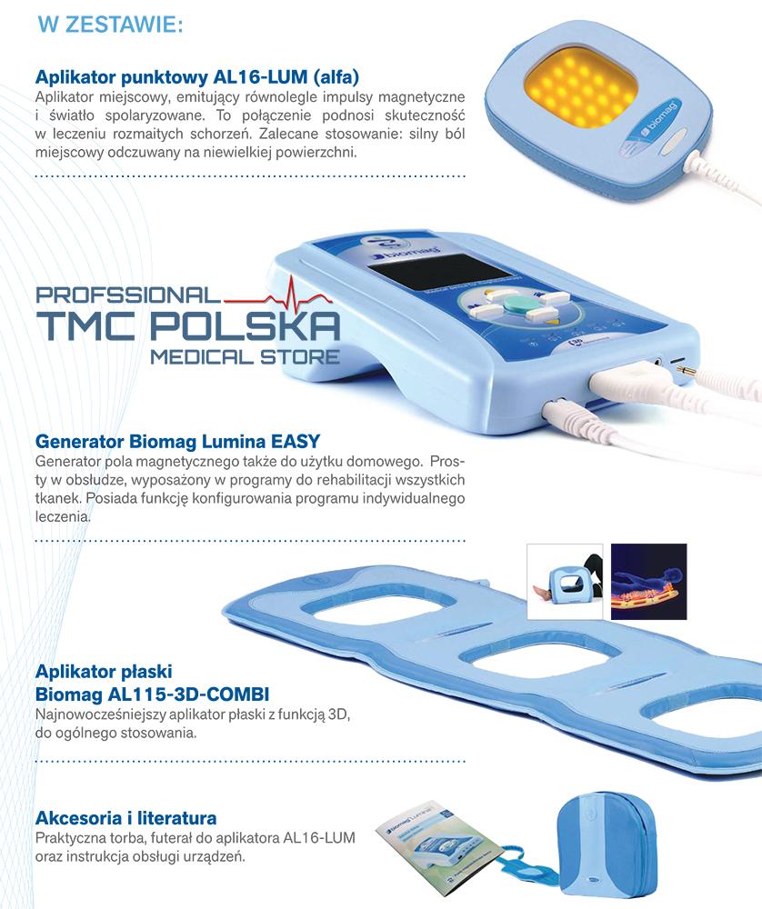 Biomag Lumina Easy - akcesoria TMC POLSKA - najlepsze ceny