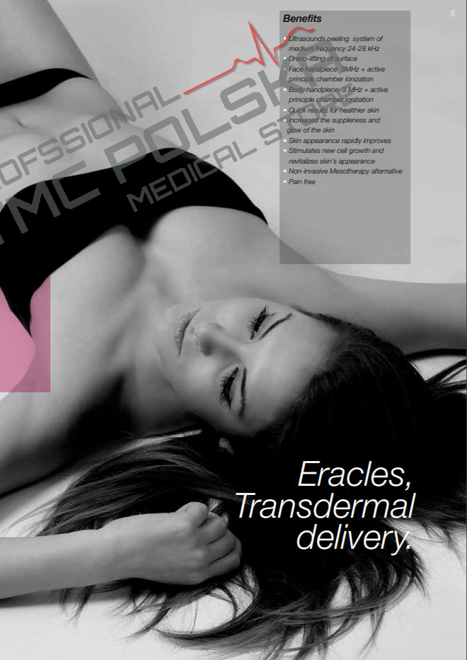 Eracles - urządzenia, sprzet do gabinetów kosmetycznych