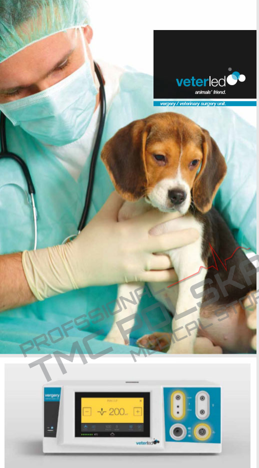 VeterLed VEEGERY - weterynaryjny sprzet elektrochirurgiczny