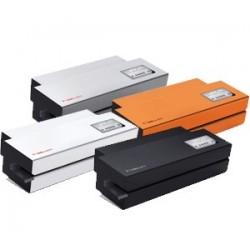 Zgrzewarka rotacyjna HAWO hm 950 DC-V NanoPak z ekranem dotykowym z zintegrowaną drukarką kodów kreskowych.