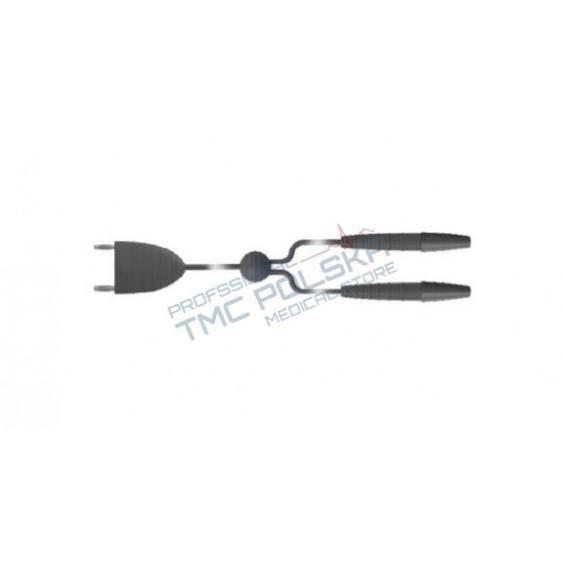 Przewód, kabel bipolarny do kleszczyków / nożyczek bipolarnych dł. 3m - 00418.00 SURTRON diatermia 00411.00