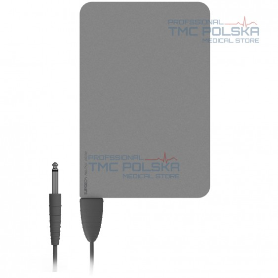 AUTOKLAWNA - Stalowa elektroda bierna 160x120 mm -nr. 00401.00 z kablem 3m