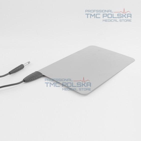 AUTOKLAWNA - Stalowa elektroda bierna 240x160 mm -nr. 00401.03 z kablem 3m