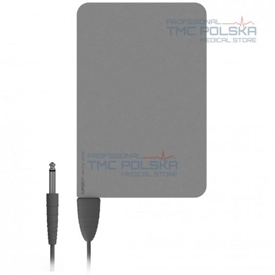 Stalowa elektroda bierna 160x240 mm -nr. 00401.00 z kablem 3m