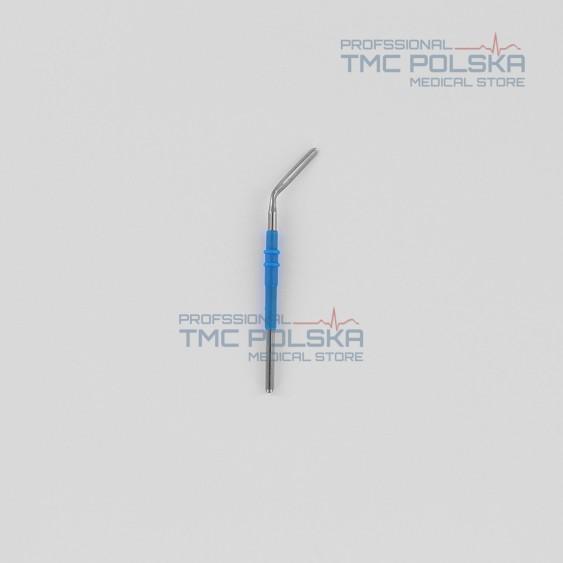 Elektroda nożowa zakrzywiona, elektroda nóż kątowy 45º - 152-112 - 7 cm, 2.4mm do diatermii chirurgicznej SURTRON