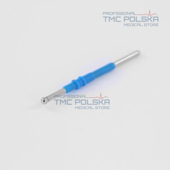 Elektroda kulkowa Ø 3mm, 6 cm, elektroda kulka prosta Ø 3mm -6 cm 152-140, 2.4mm do diatermii chirurgicznej SURTRON