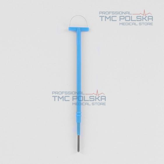 Elektroda półpętla 20x13cm długość 14cm, elektroda pętlowa, 152-190-13,  2.4mm do diatermii chirurgicznej SURTRON  ⌀2.4mm
