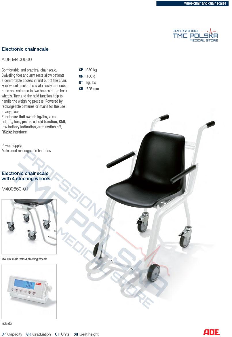 ADE M403660 Waga krzesełkowa elektroniczna