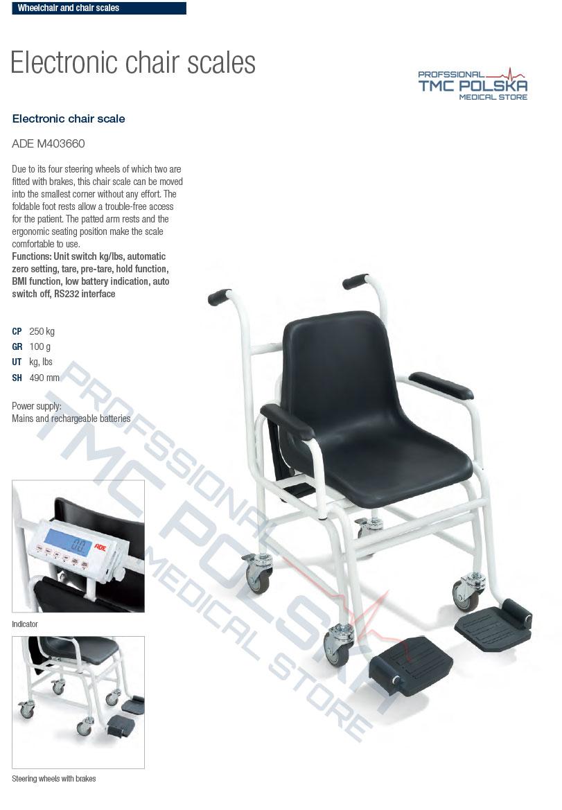 ADE M403660 Waga krzesełkowa elektroniczna- wagi krzesełkowe
