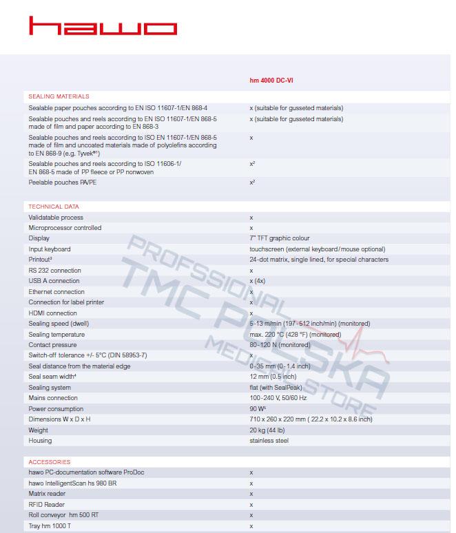_CENY Producenta-Zgrzewarka rotacyjna HAWO hm 4000 DC-V