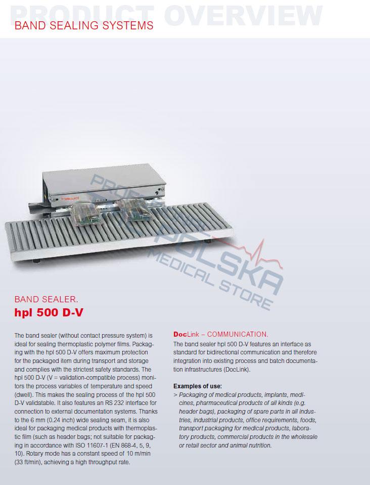 Zgrzewarka rotacyjna HAWO hpl 500 D/D-V, zgrzewarka rolkowa, zgrzewarka taśmowa